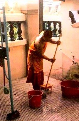 Bikhu cleaning